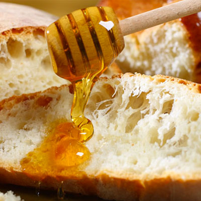Breads and honey