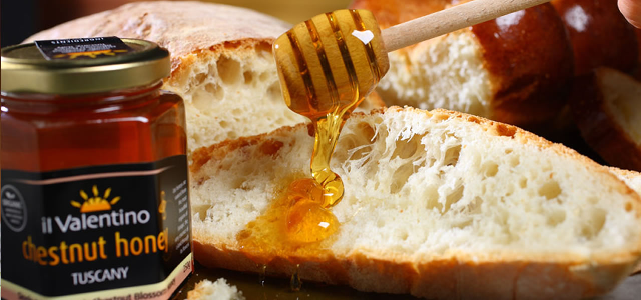 Real honey on real bread