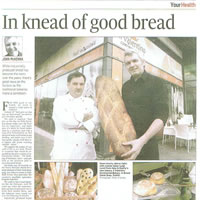 In the knead of good bread
