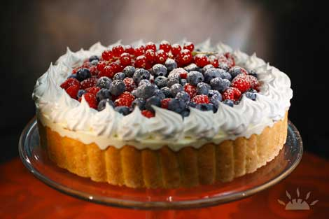 Summer Berries Charlotte | Il Valentino Bakery & Cafe | Best Cakes in Dublin